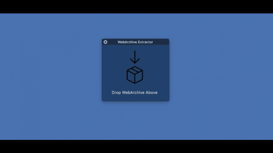 WebArchive Extractor for Mac - review, screenshots