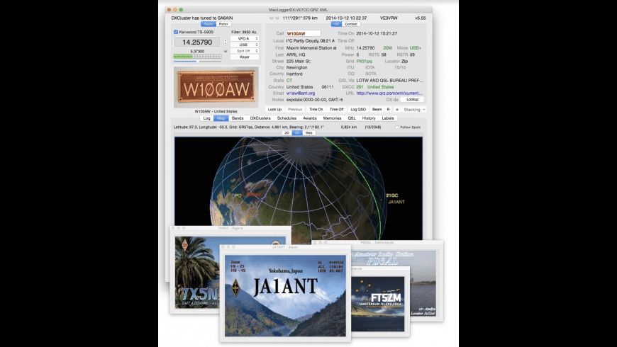 MacLoggerDX for Mac - review, screenshots