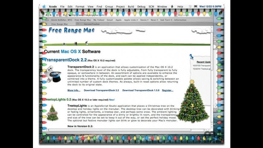 TreetopLights for Mac - review, screenshots