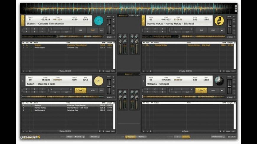 UltraMixer for Mac - review, screenshots