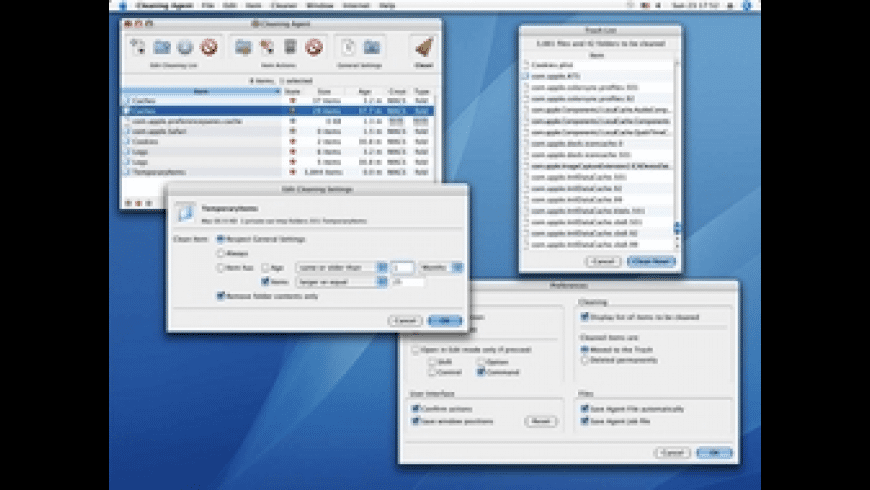 Cleaning Agent X for Mac - review, screenshots