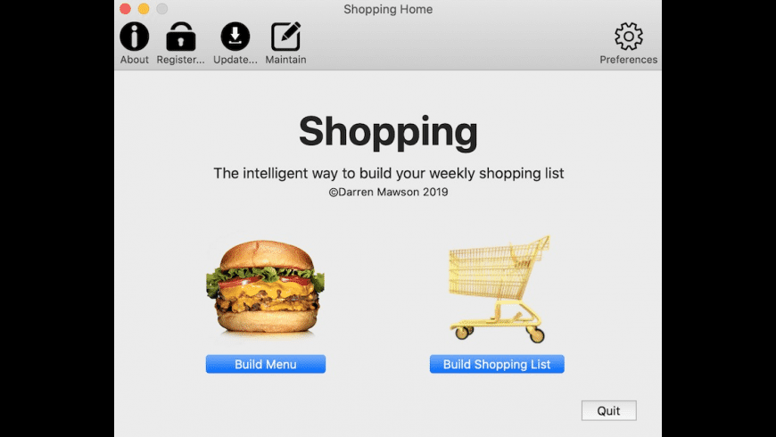 Shopping Desktop for Mac - review, screenshots