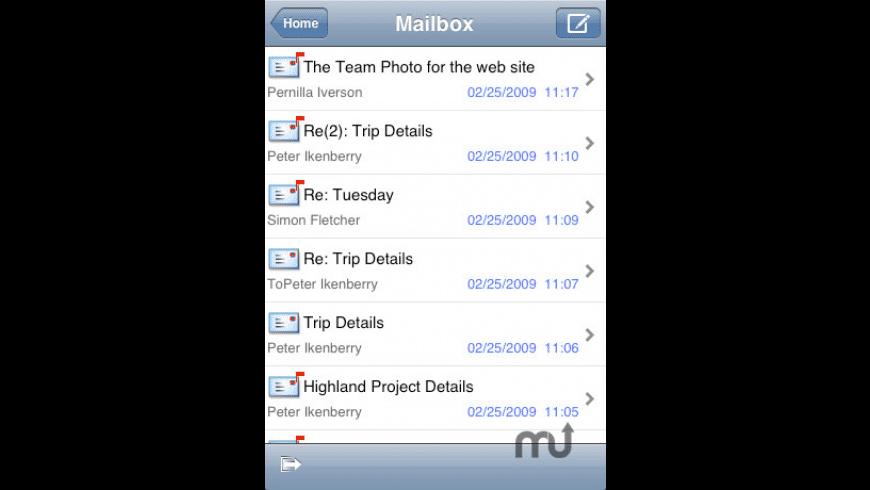 FirstClass Mobile Client for Mac - review, screenshots