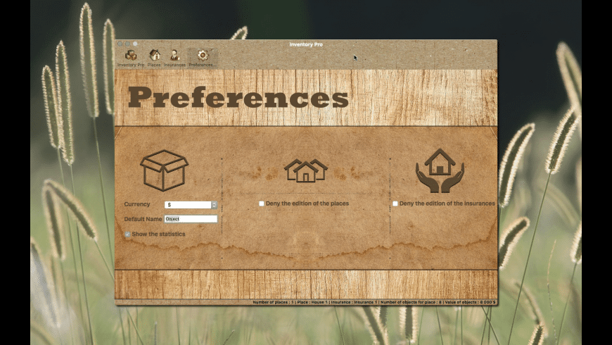 Inventory for Mac - review, screenshots