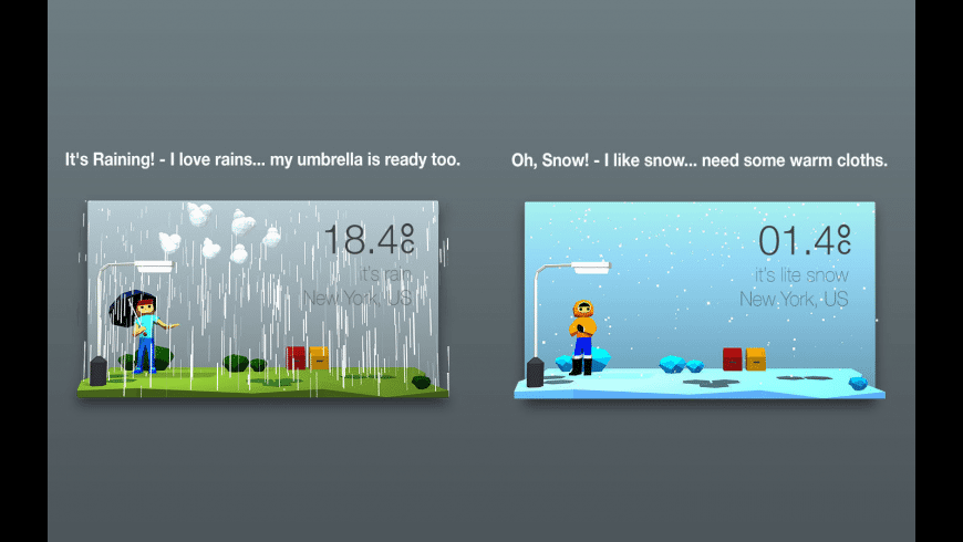 3DWeather for Mac - review, screenshots