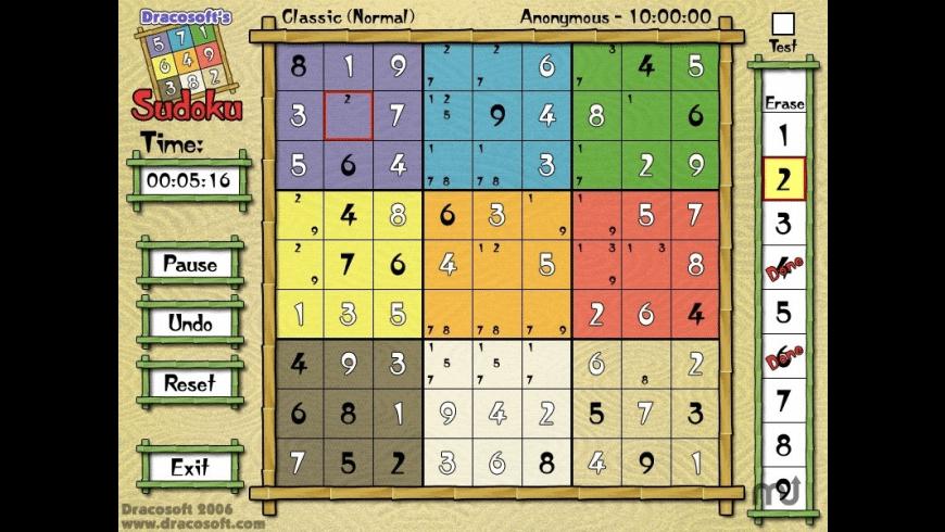 Sudoku for Mac - review, screenshots