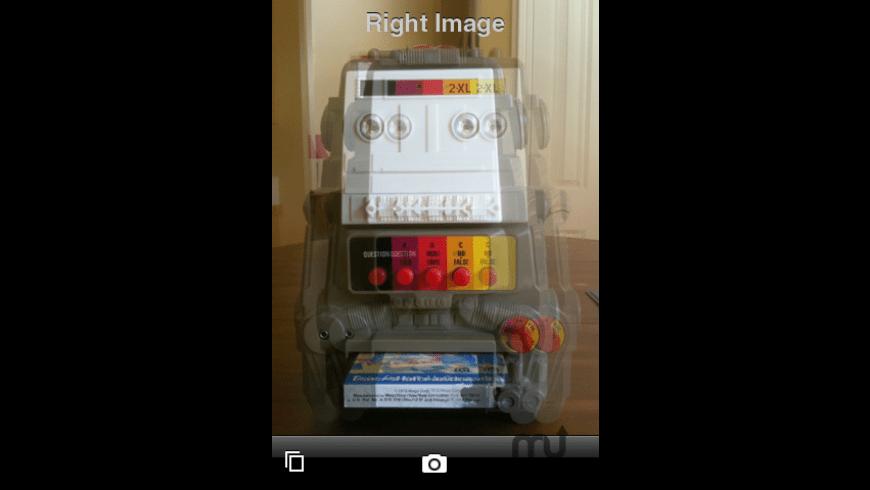 3D Camera for Mac - review, screenshots