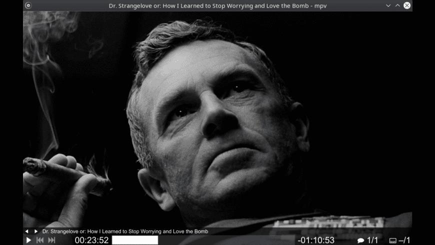 mpv for Mac - review, screenshots