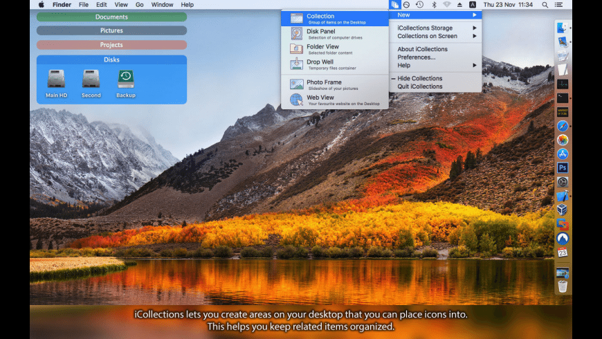 iCollections for Mac - review, screenshots