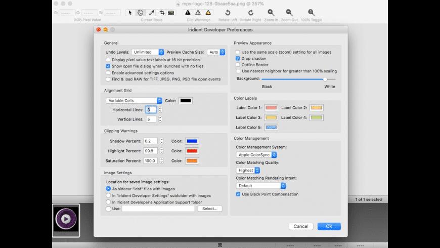 Iridient Developer for Mac - review, screenshots