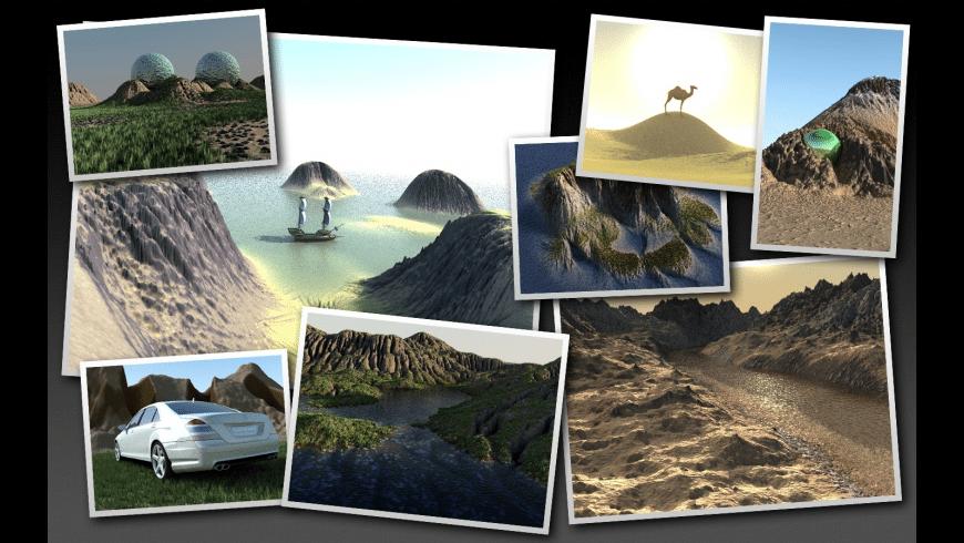 TerraRay for Mac - review, screenshots
