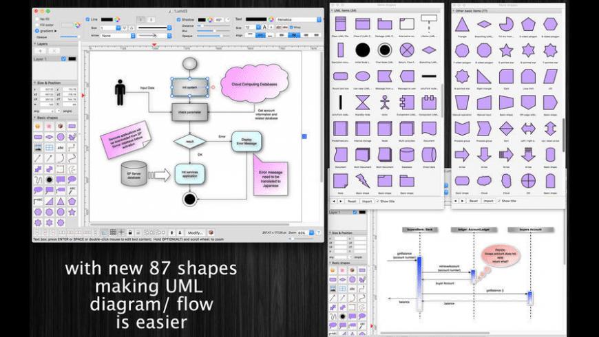 xDiagram for Mac - review, screenshots