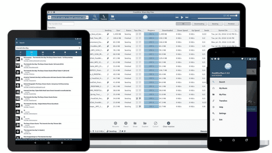 FrostWire for Mac - review, screenshots