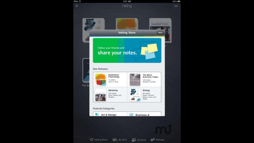 Inkling for Mac - review, screenshots