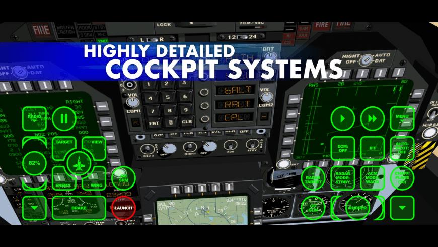 FA18 Hornet Fighter Jet for Mac - review, screenshots