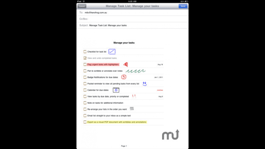 Manage for Mac - review, screenshots