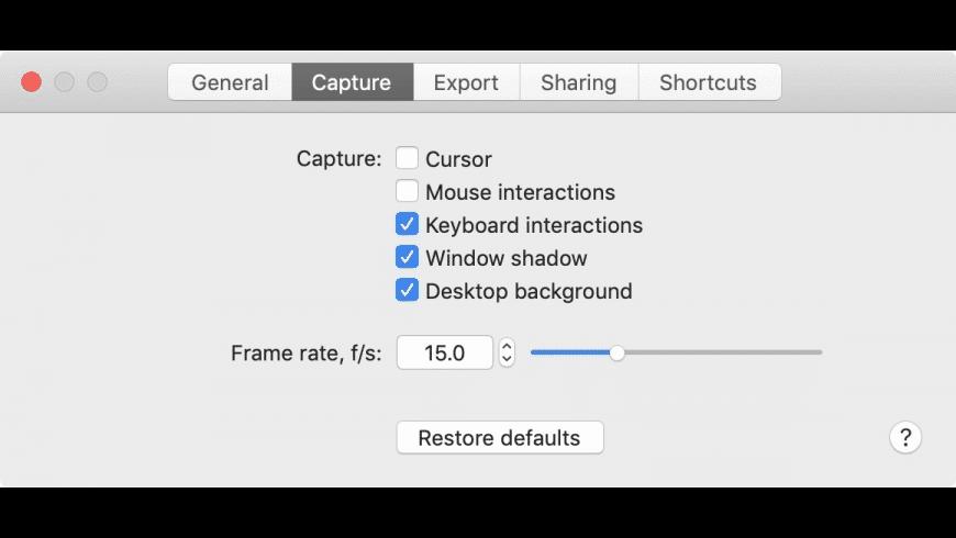 Gifox for Mac - review, screenshots