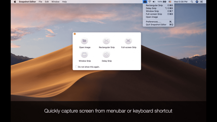 Screenshot Editor for Mac - review, screenshots