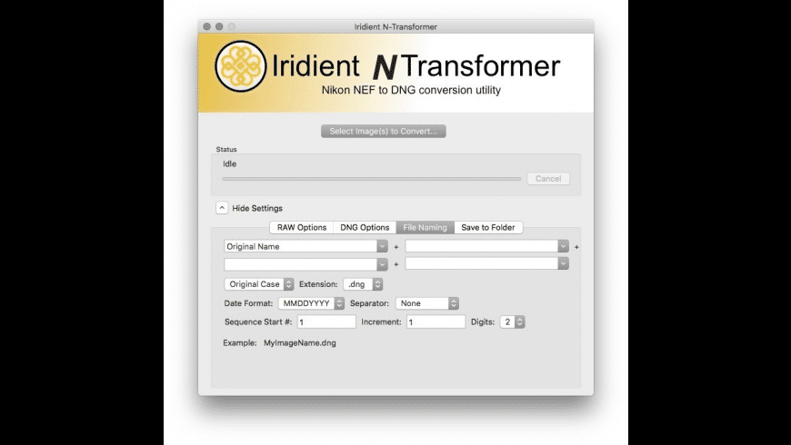 Iridient N-Transformer for Mac - review, screenshots