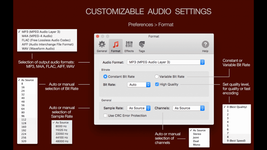 To Audio Converter for Mac - review, screenshots