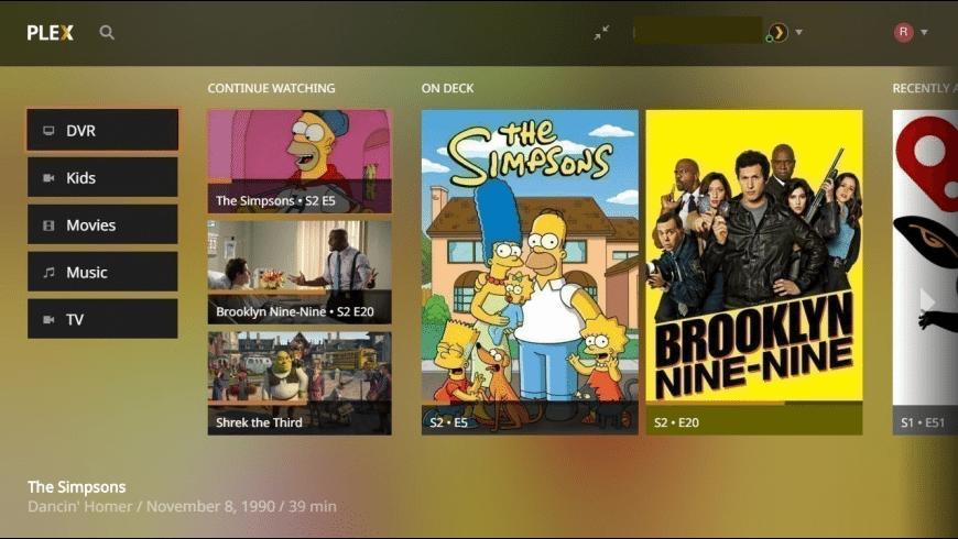 Plex Media Player for Mac - review, screenshots