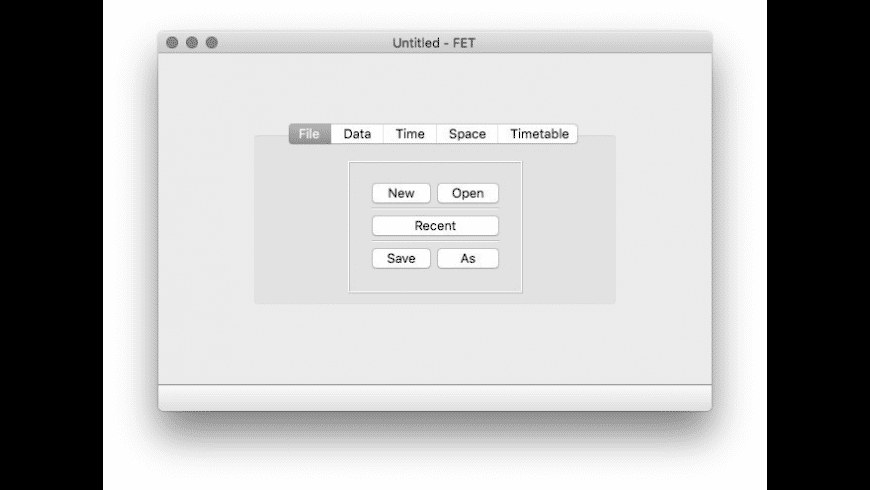 FET for Mac - review, screenshots