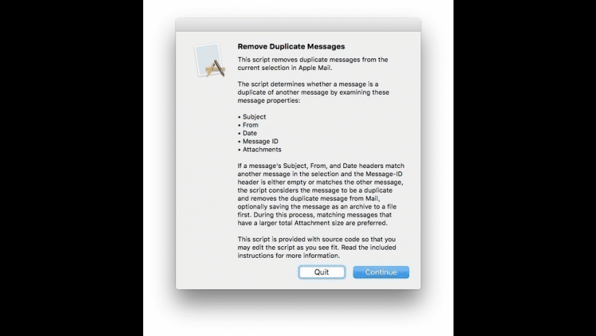 Remove Duplicate Messages for Mac - review, screenshots