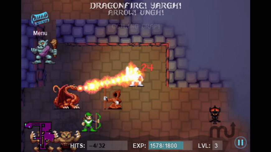 Sword of Fargoal for Mac - review, screenshots