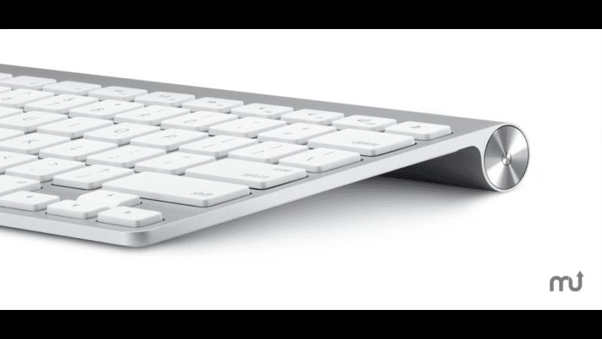 Apple 2007 Aluminum Keyboard Firmware Update for Mac - review, screenshots