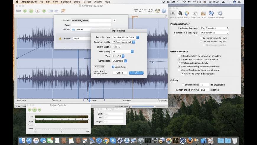 Amadeus Lite for Mac - review, screenshots