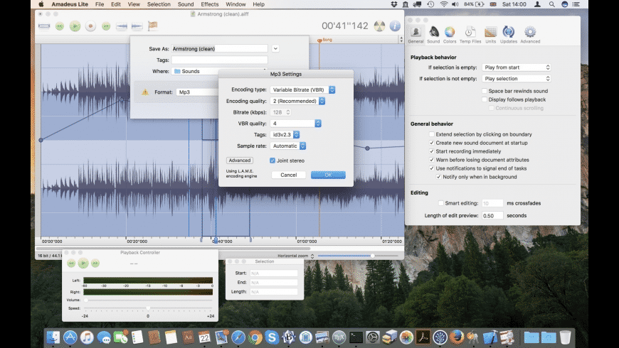 Amadeus Lite for Mac - review, screenshots