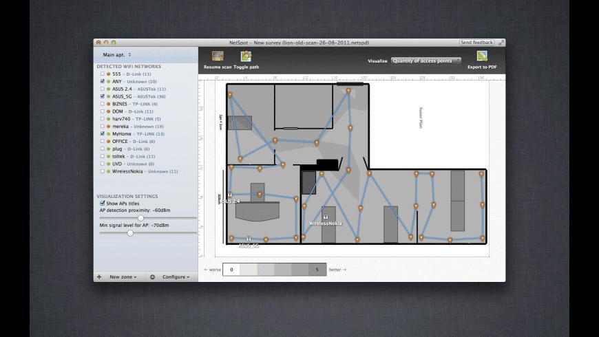 NetSpot Pro for Mac - review, screenshots