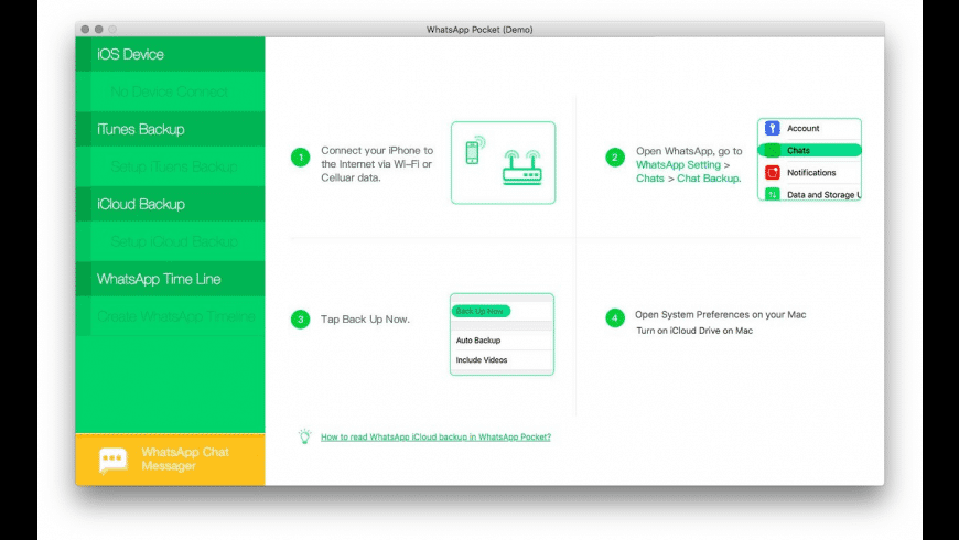 WhatsApp Pocket for Mac - review, screenshots