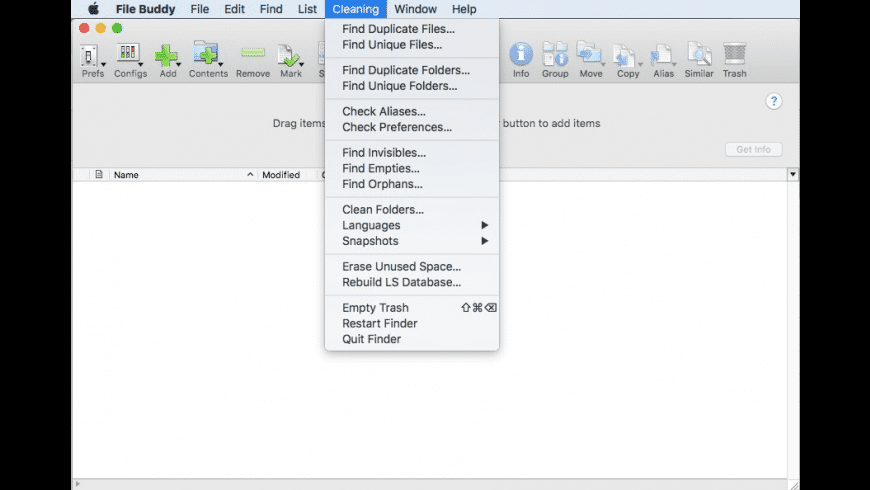File Buddy for Mac - review, screenshots