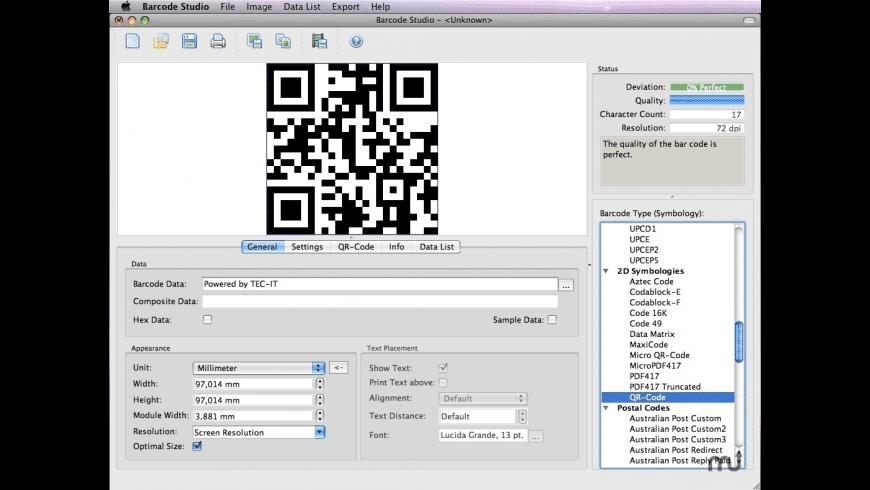 BC Studio for Mac - review, screenshots