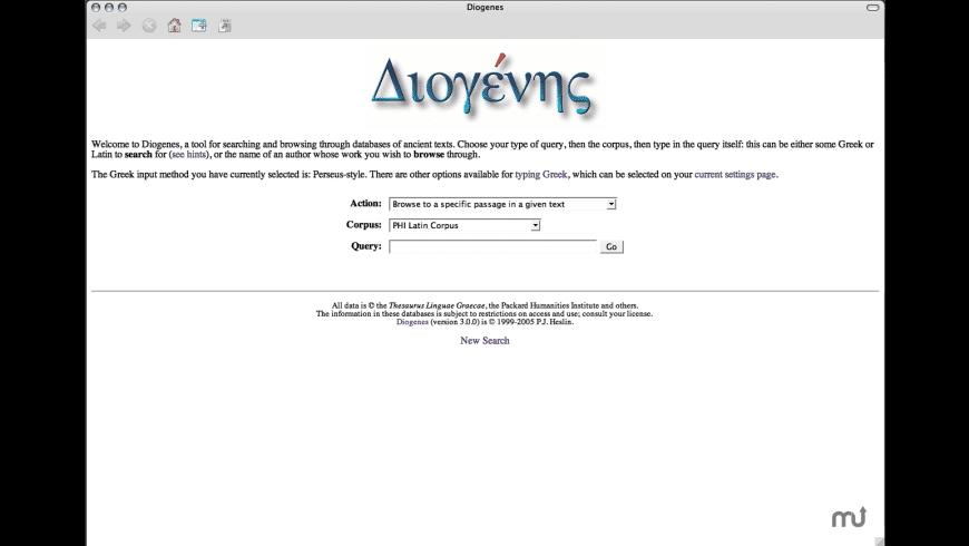 Diogenes for Mac - review, screenshots