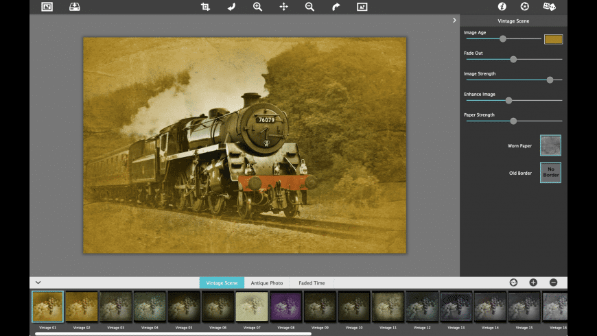 Vintage Scene for Mac - review, screenshots