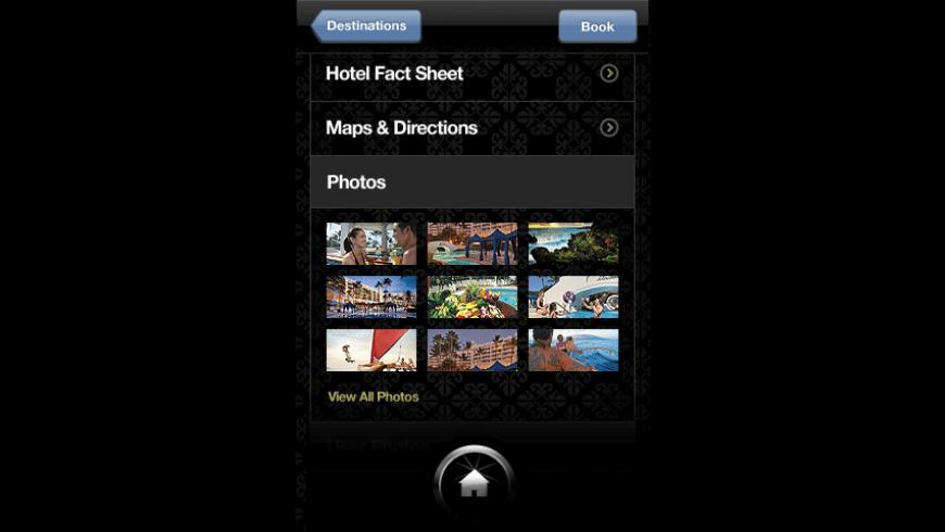 Fairmont Hotels & Resorts for Mac - review, screenshots