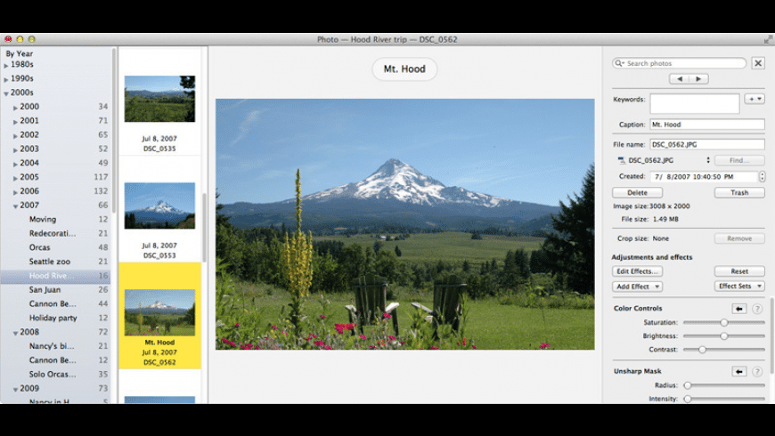Growly Photo for Mac - review, screenshots