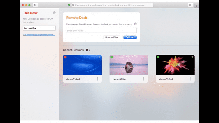 AnyDesk for Mac - review, screenshots