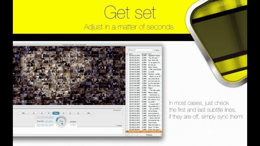 Subtitle Studio for Mac - review, screenshots