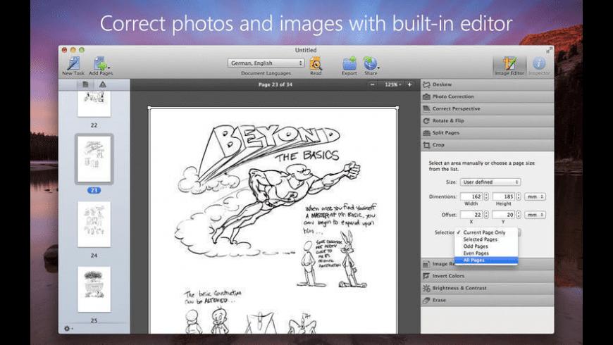 FineReader OCR Pro for Mac - review, screenshots