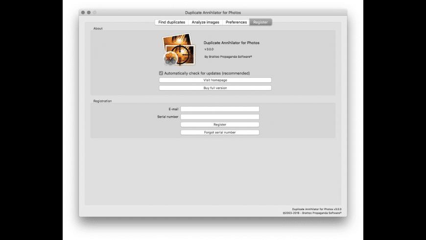 Duplicate Annihilator for Photos for Mac - review, screenshots