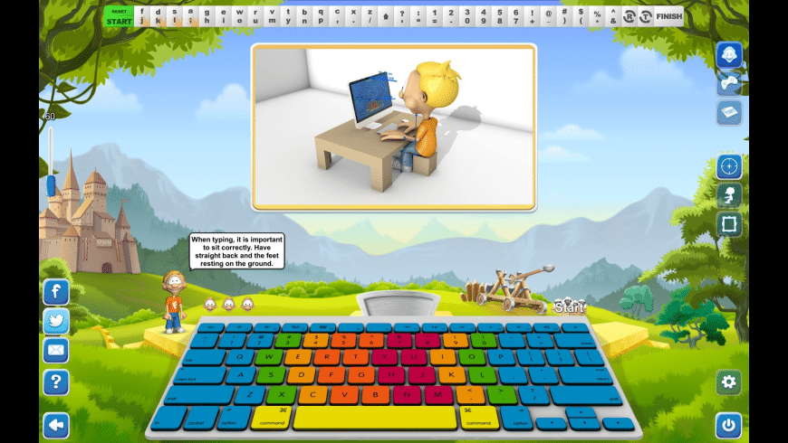 Typing Fingers for Mac - review, screenshots