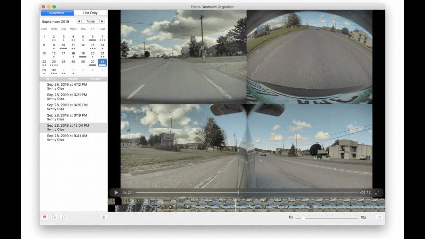 Focus Dashcam Organizer for Mac - review, screenshots
