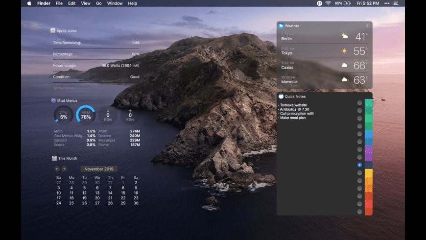 Todeska for Mac - review, screenshots