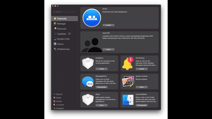 MacForge for Mac - review, screenshots