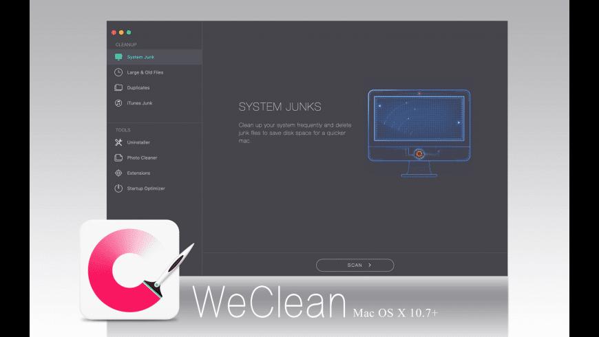 WeClean for Mac - review, screenshots