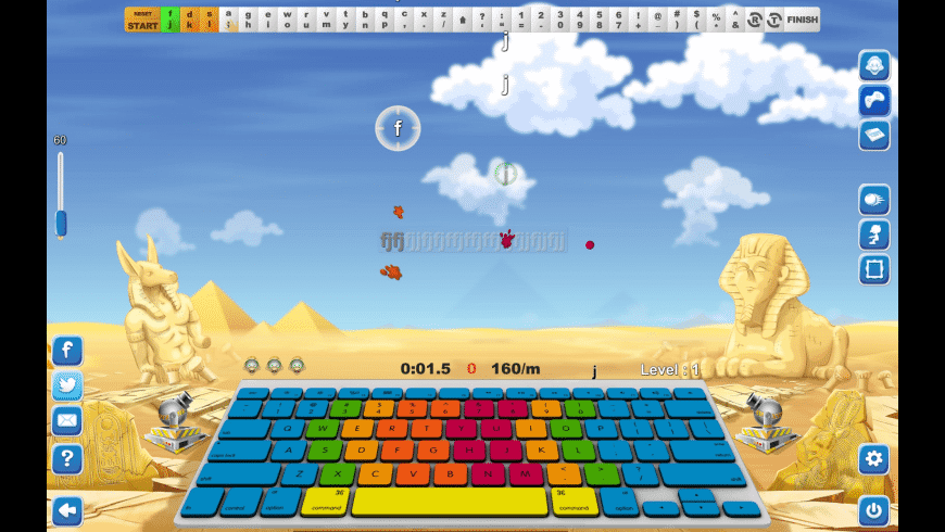 Typing Fingers LT for Mac - review, screenshots