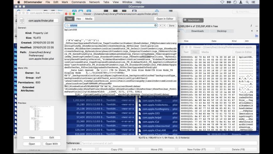 DCommander for Mac - review, screenshots